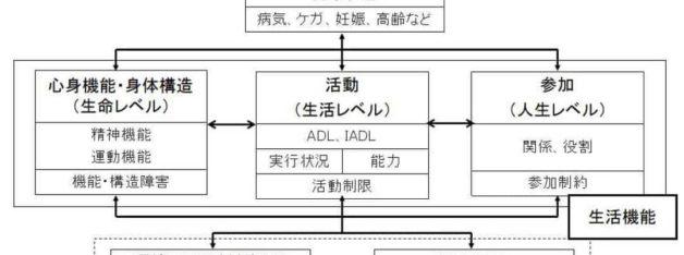 ICFの概念図